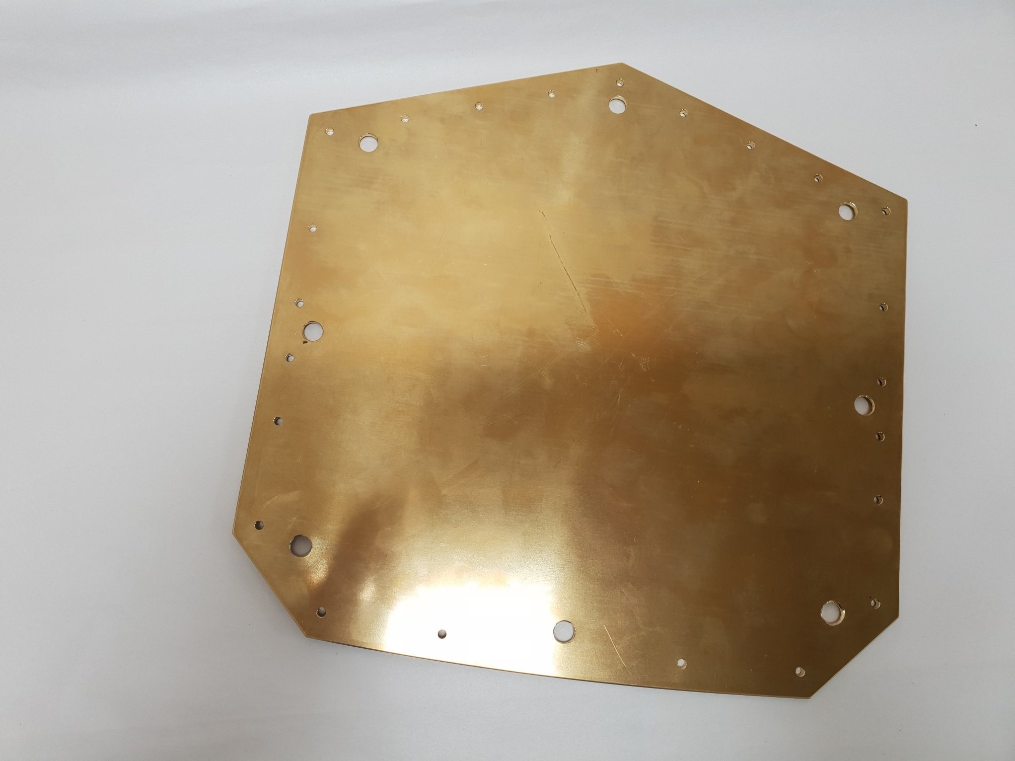 Brass Belt Plate